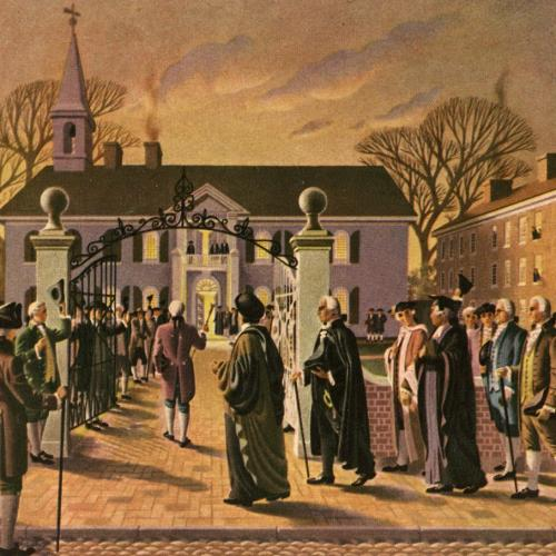 Revolutionary government of Pennsylvania chartered the University.